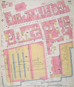 Insurance Plan of London Vol. V: sheet 105